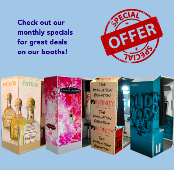 Monthly Photo Booth Specials