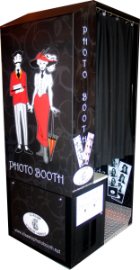 Digital Photo Booth Standard Black