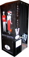 Black Standard Digital Photo Booth Wedding