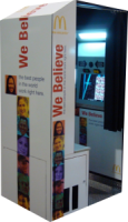 McDonald's We Believe Digital Photo Booth