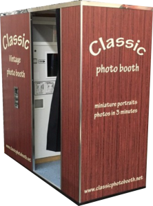 Wooden Classic Photo Booth