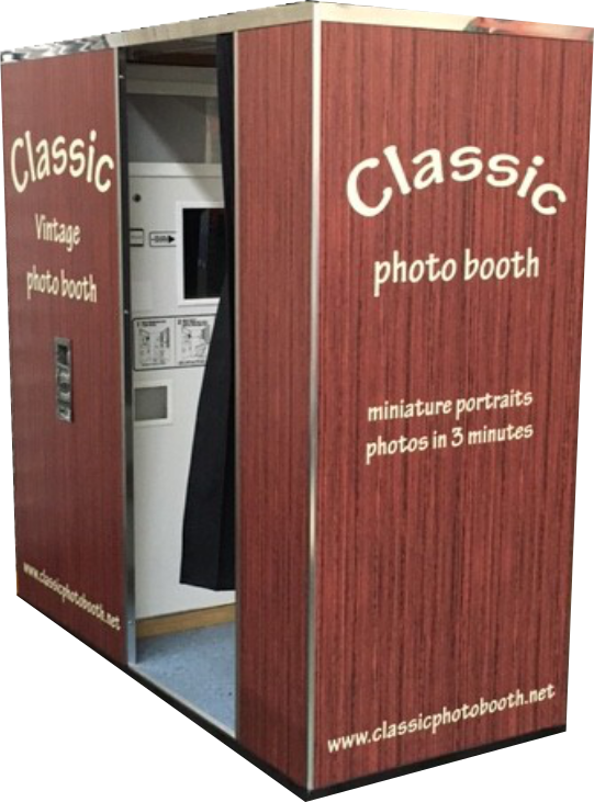 Vintage Photo Booth is old fashion non digital booth in NJ