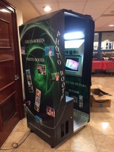 Digital green screen photo booth
